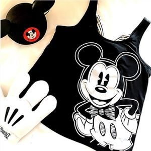 Mickey Mouse Tank with Bow